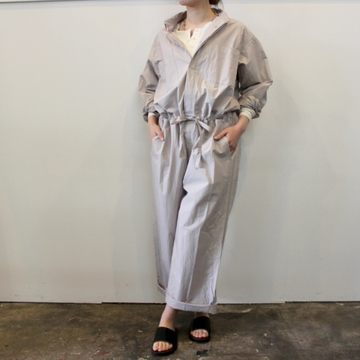 TOUJOURS(トゥジュー)【21SS】Loose Fit String All-in-one_TM34BP03【K】