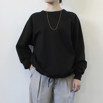AURALEE(オーラリー)【21SS】SUPER SOFT SWEAT DRAW CODE BIG P/O(2色展開)_A21SP04GU【K】