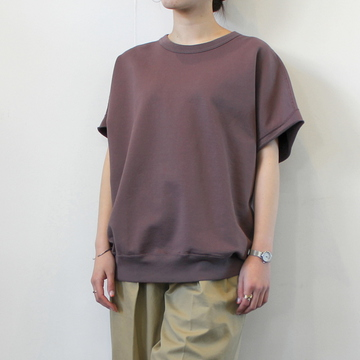 AURALEE(オーラリー)【21SS】SUPER SOFT SWEAT BIG SLEEVELESS(2色展開)_A21SP05GU【K】