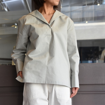 TENNE HANDCRAFTED MODERN(テン ハンドクラフテッドモダン) SAILOR COLLAR SHIRT #0001-21SS