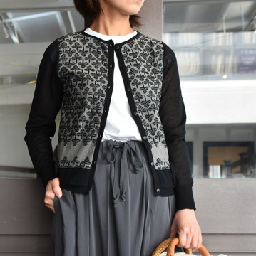 ANTIPAST(アンティパスト)  SOCKS KNIT CARDIGAN #NF104-691A