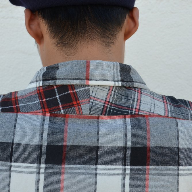 【40% off sale】 MOJITO(モヒート)/ ABSHINTH SHIRT Bar.2.0 -(99)GRAY- #2063-1106(10)