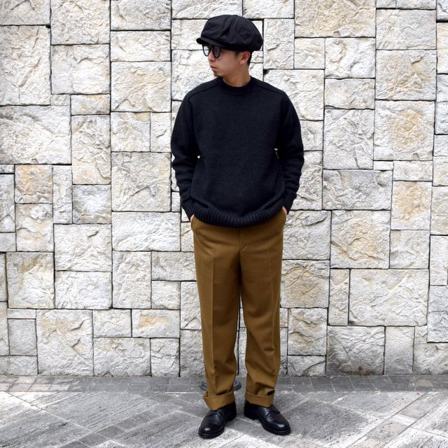 BATONER(バトナ—)/ HEAVY WEIGHT CASHMERE CREW NECK BN-19FL-044(10)