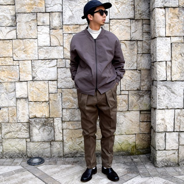 【2020 SS】NEAT(ニート)/ COTTON PIQUE ''TAPERED'' -KHAKI- #20-01CPT(10)