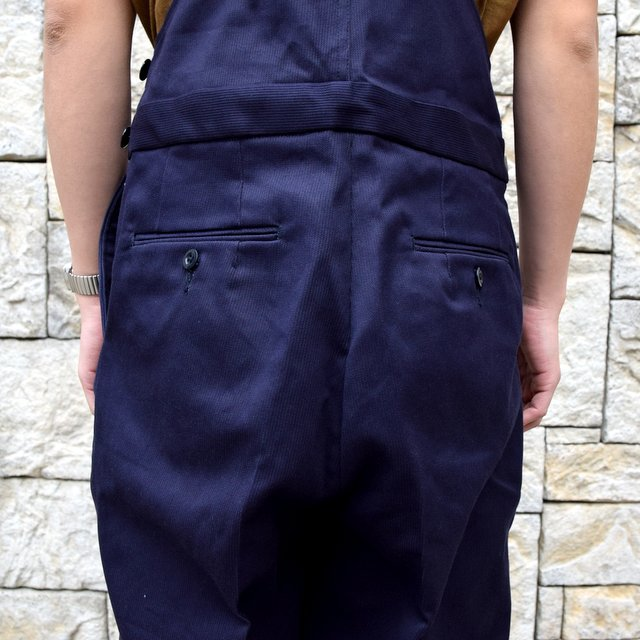 【2020 SS】NEAT(ニート)/ COTTON PIQUE ''OVERALL'' -NAVY- #20-01CPO-NV(10)
