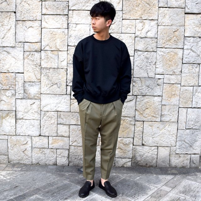 【2020 SS】YOKE(ヨーク)/OVERSIZED PIPING SWEAT -3色展開- #YK20SS0107CS(10)