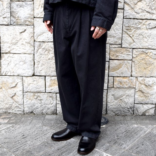 【2020 SS】YOKE(ヨーク)/ 2TUCK WIDE TROUSERS -2色展開- #YK20SS0105P(10)