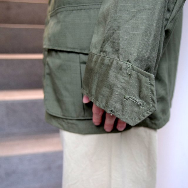 DEAD STOCK(デッドストック)/ 60s US ARMY ''JUNGLE FATIGUE JACKET'' 4th -OLIVE- #MILITARY265(10)