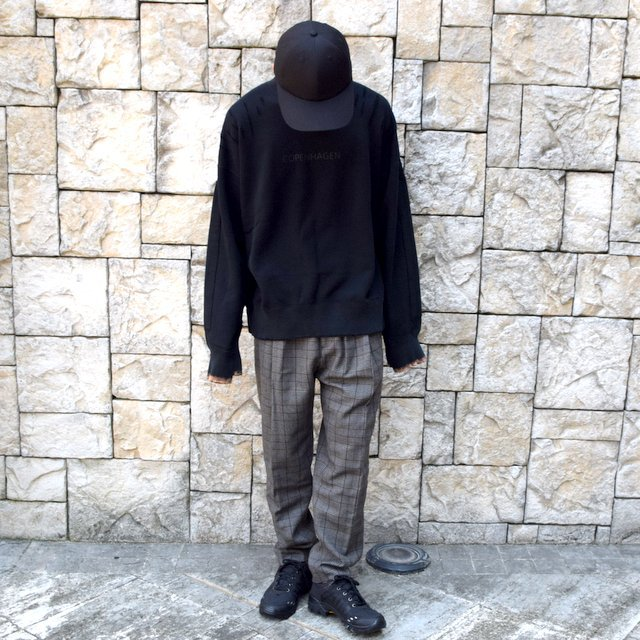 【2020】stein(シュタイン)/ WIDE TAPERED TROUSERS -GLEN CHECK- #ST178-2(10)