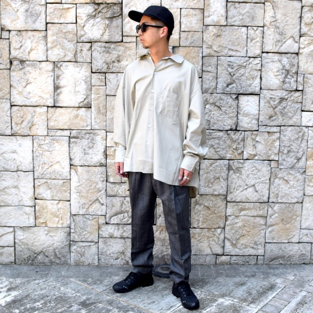 【2020】stein(シュタイン)/ WIDE TAPERED TROUSERS -HERRINGBONE- #ST178-2(10)