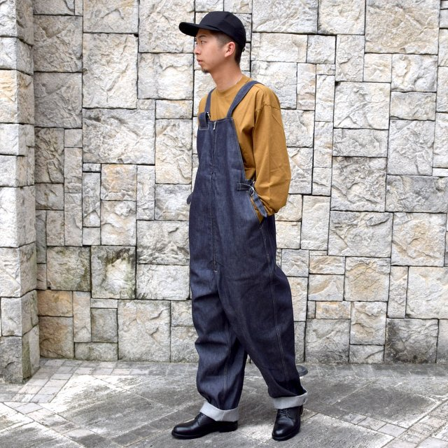 【2020】blurhms ROOTSTOCK(ブラームス) / SILK COTTON JERSEY L/S LOOSE FIT -CAMEL- #ROOTS-F206(10)