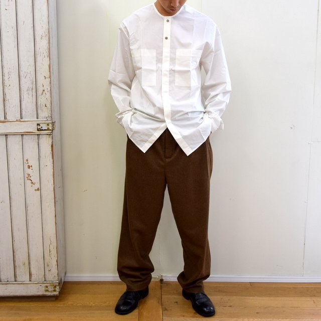 toogood(トゥーグッド)/ THE BLACKSMITH SHIRT -CHALK- #6205200(10)
