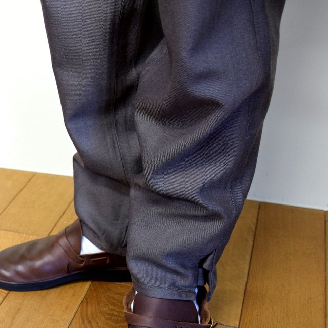 HOMELESS TAILOR(ホームレステイラー)/ HIP GUSSET PANTS -BROWN- #HTK-20F-010(10)