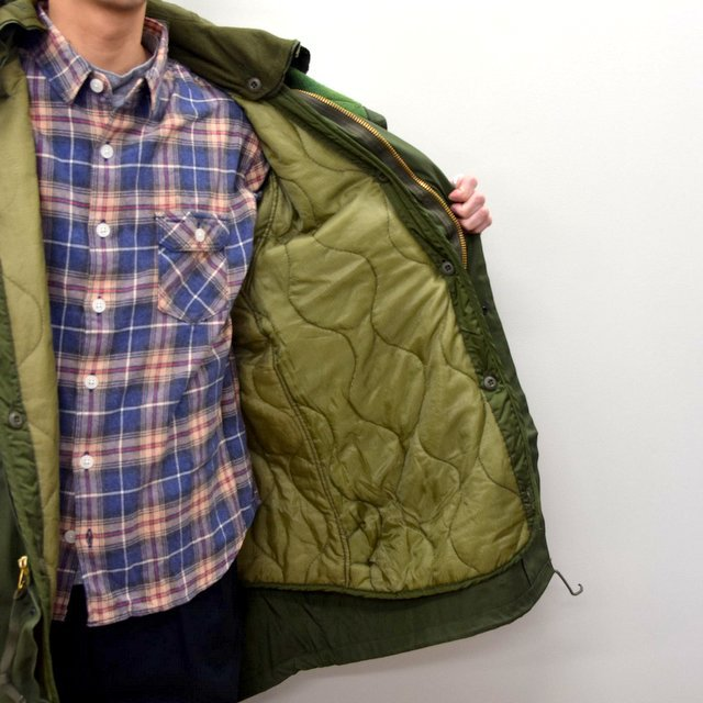 DEAD STOCK(デッドストック)/ US ARMY FISHTAIL PARKA -OLIVE- (10)