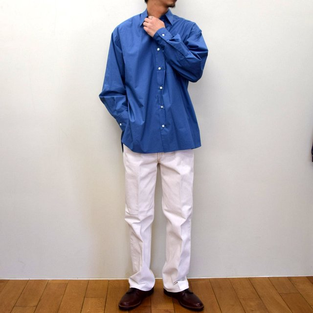 MARKAWARE(マーカウェア)/ COMFORT FIT SHIRT -CYAN BLUE- #A21A-07SH01C(10)