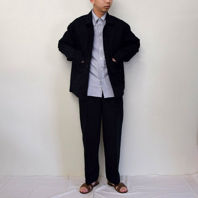 MARKAWARE(マーカウェア)/ WORK JACKET -BLACK- #A21A02BL01C(10)