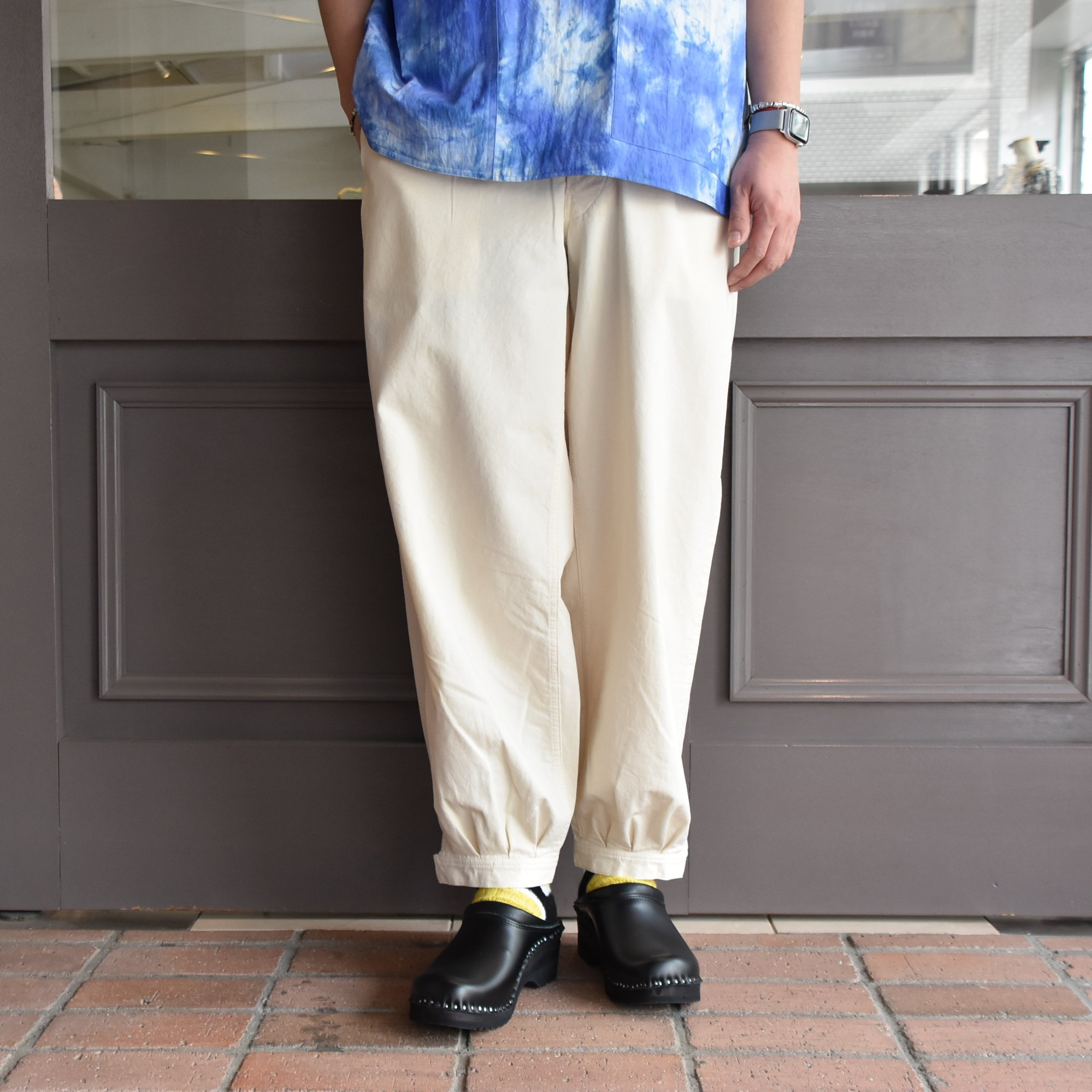 [2021]amachi.(アマチ) DetachablePocket Work Pants-Off White- #AY8-22(10)