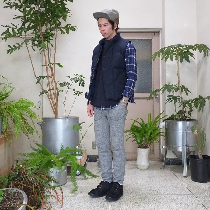 GRIZZLY BOOTS(グリズリー ブーツ) Lineman Oxford -BLACK ROUGH OUT-【別注】(11)