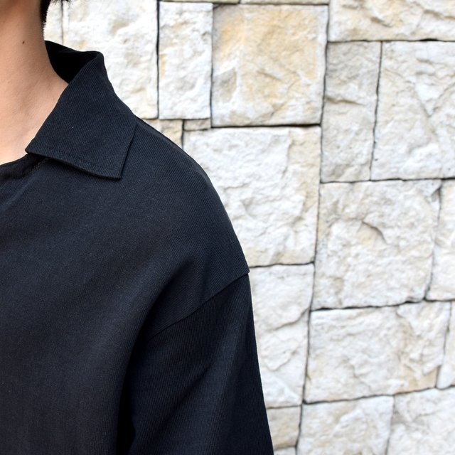 【30% off sale 】KAPTAIN SUNSHINE (キャプテンサンシャイン)/ SKIPPER SHIRT  -BLACK-#KS9SCS09(11)