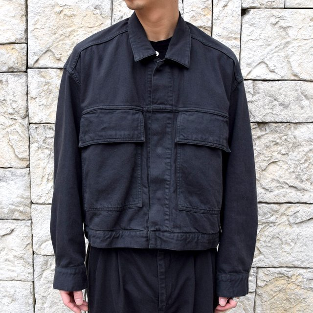 【2020 SS】YOKE(ヨーク)/ WIDE DENIM BLOUSON -2色展開- #YK20SS0104B(11)