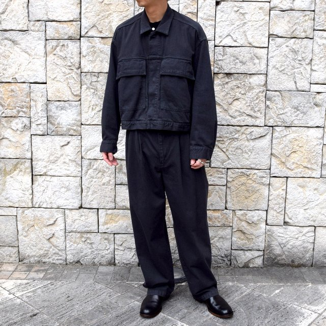【2020 SS】YOKE(ヨーク)/ 2TUCK WIDE TROUSERS -2色展開- #YK20SS0105P(11)