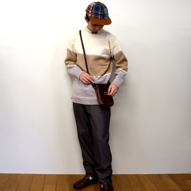 BROWN by 2-tacs (ブラウンバイツータックス)/ GUERNSEY WOOLLENS