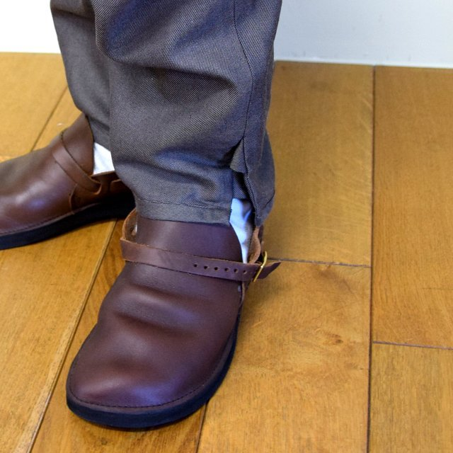 HOMELESS TAILOR(ホームレステイラー)/ HIP GUSSET PANTS -BROWN- #HTK-20F-010(11)