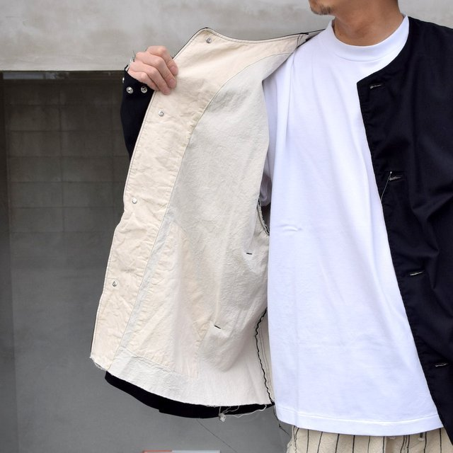 ISSUETHINGS(イシューシングス)/ NO COLLAR JACKET -2Color- #(11)