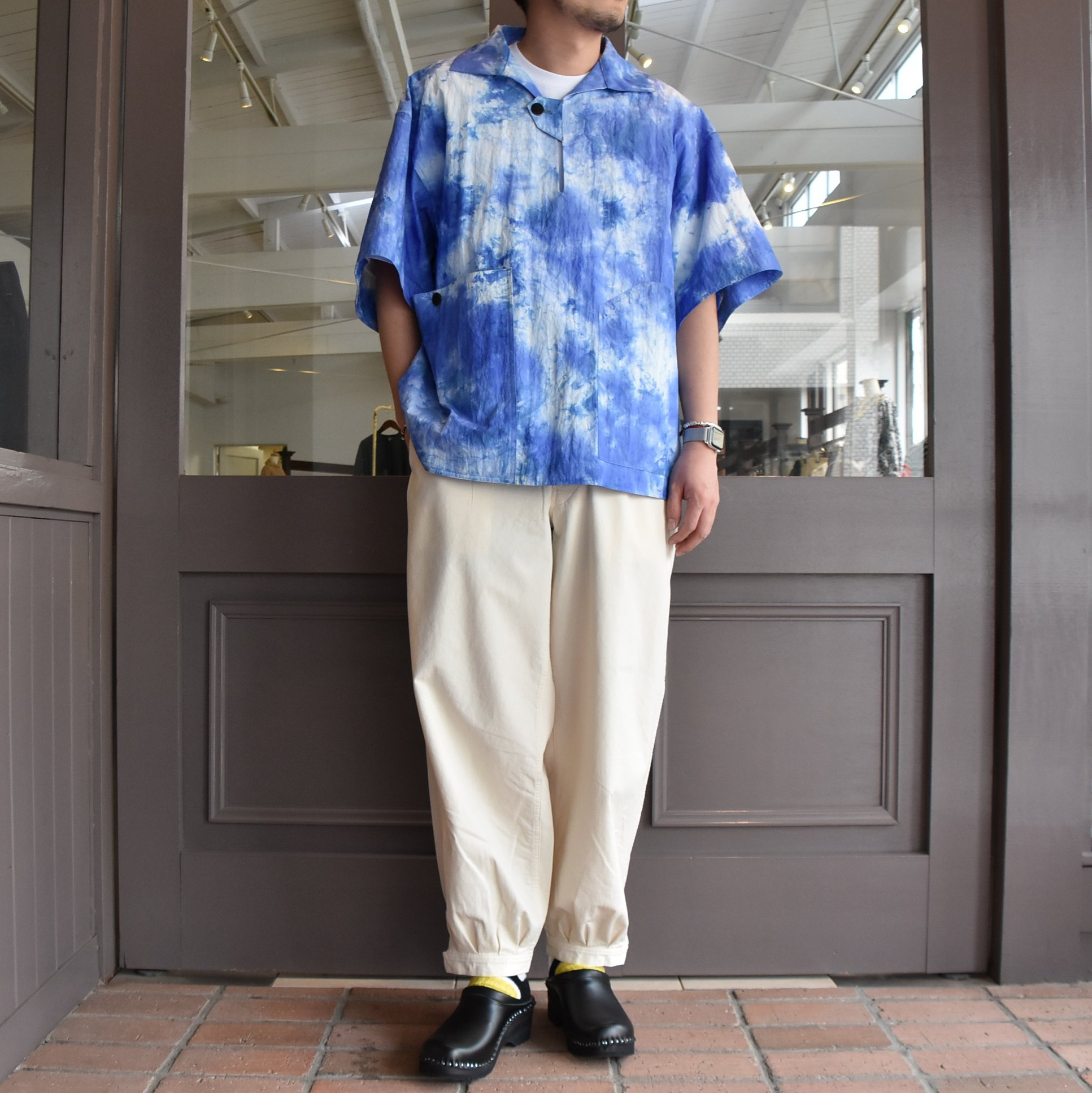 [2021]amachi.(アマチ) DetachablePocket Work Pants-Off White- #AY8-22(11)