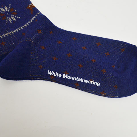 【30% off sale】White Mountaineering(ホワイトマウンテニアリング) Reindeer Pattern Middle Socks(12)