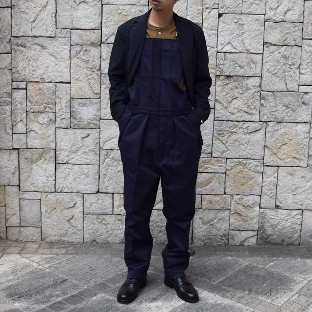 【2020 SS】NEAT(ニート)/ COTTON PIQUE ''OVERALL'' -NAVY- #20-01CPO-NV(12)