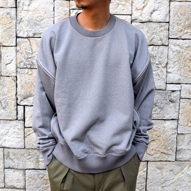 【2020 SS】YOKE(ヨーク)/OVERSIZED PIPING SWEAT -3色展開- #YK20SS0107CS(12)