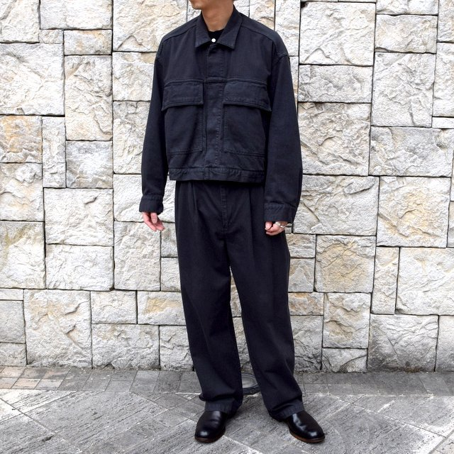 【2020 SS】YOKE(ヨーク)/ WIDE DENIM BLOUSON -2色展開- #YK20SS0104B(12)