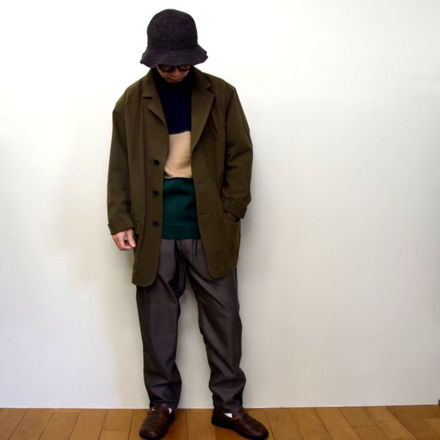 HOMELESS TAILOR(ホームレステイラー)/ HIP GUSSET PANTS -BROWN- #HTK-20F-010(12)