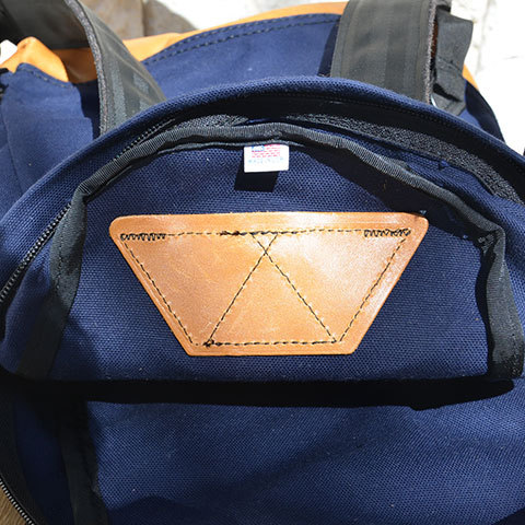 Altadena Works(アルタデナワークス) 801 Daypack(canvas) -Navy Acorn- 【Z】(13)