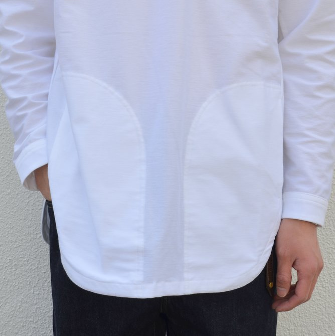 【30% OFF SALE】【17 SS】Curly(カーリー) HIGH GAUGE TWILL JERSEY -WHITE- #171-31032SD(13)