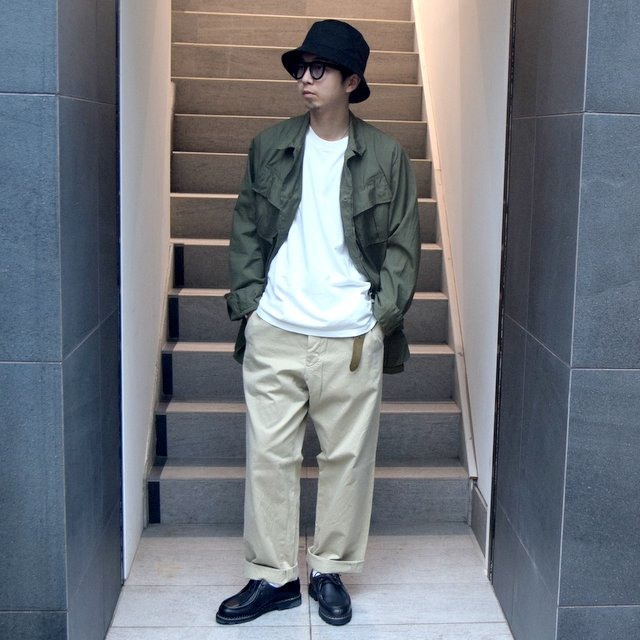 DEAD STOCK(デッドストック)/ 60s US ARMY ''JUNGLE FATIGUE JACKET'' 4th -OLIVE- #MILITARY265(13)
