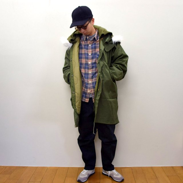 DEAD STOCK(デッドストック)/ US ARMY FISHTAIL PARKA -OLIVE- (13)