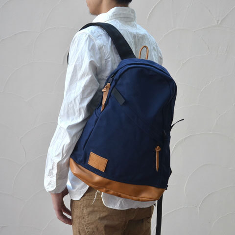 Altadena Works(アルタデナワークス) 801 Daypack(canvas) -Navy Acorn- 【Z】(1)