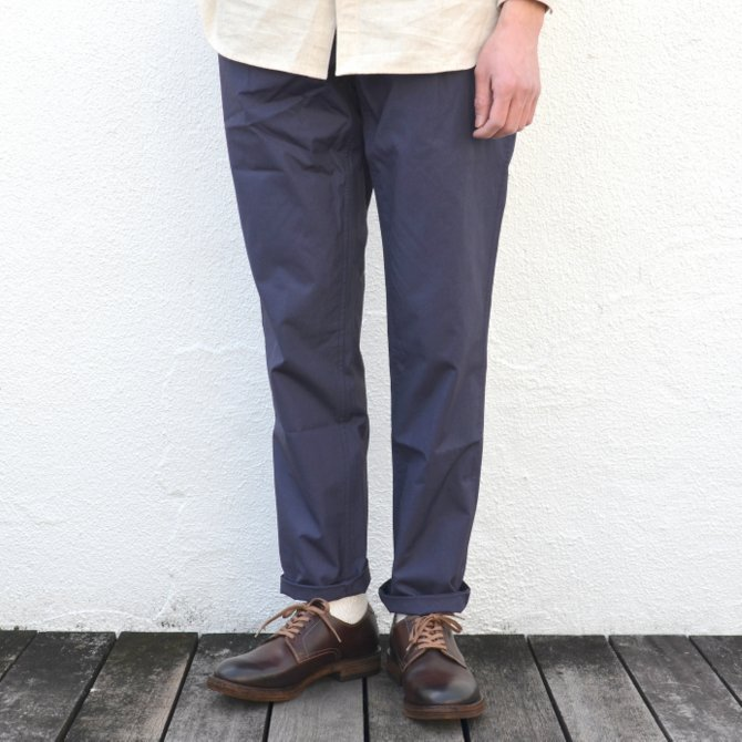【40% off sale】S.E.H KELLY(エス・イー・エイチ・ケリー)/ NORTHERN IRISH SHOWER-PROOF COTTON STANDARD PANT -(39)NAVY- #5113036(1)