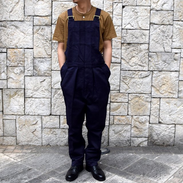 【2020 SS】NEAT(ニート)/ COTTON PIQUE ''OVERALL'' -NAVY- #20-01CPO-NV(1)