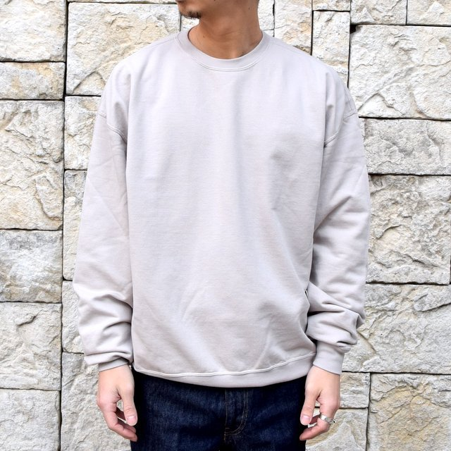 【2020 SS】AURALEE(オーラリー)/ SUPER SOFT SWEAT BIG P/O -GRAY- #A20SP02GU(1)
