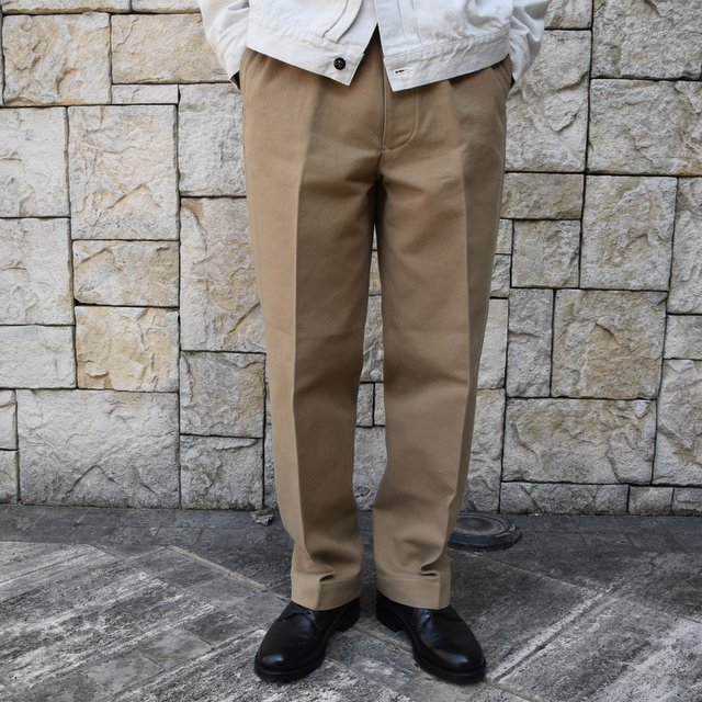 【2020 SS】KAPTAIN SUNSHINE / Wide Chino Trousers KS20SPT07(1)