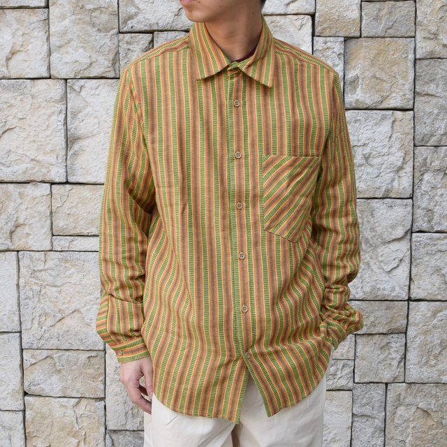 【2020 SS】FRANK LEDER(フランクリーダー) / COTTON SHIRT -YELLOW- #0836008(1)