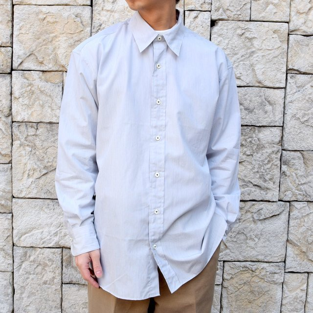 【2020】MAATEE&SONS(マーティーアンドサンズ)/REGULAR COLLAR SHIRT -GRAY- #MT0103-0601A(1)
