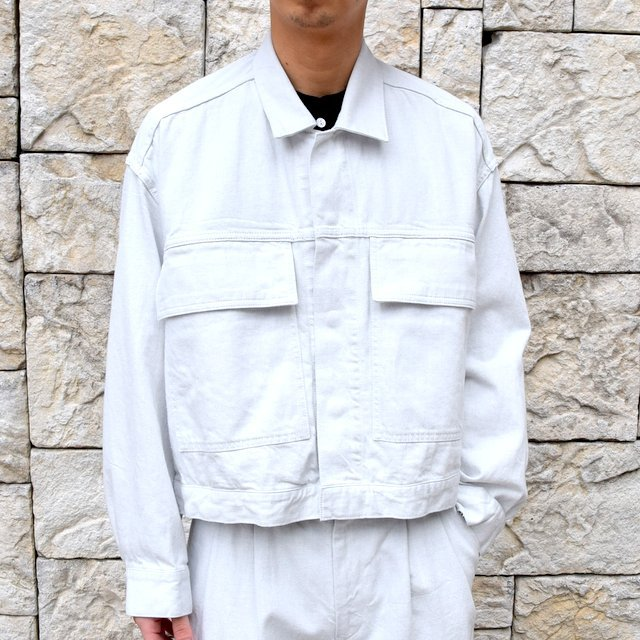 【2020 SS】YOKE(ヨーク)/ WIDE DENIM BLOUSON -2色展開- #YK20SS0104B(1)