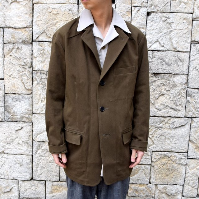 【2020 SS】HOMELESS TAILOR(ホームレステイラー)/ STEAL PK JACKET -KHAKI- #HTKS-002(1)