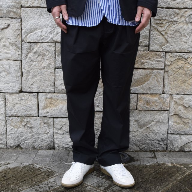 【2020 SS】 A VONTADE(ア ボンタージ)/ COMFORT WIDE EASY TROUSERS -BLack- #VTD-0423-PT(1)