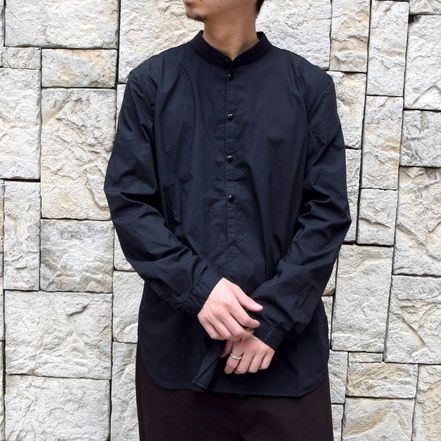 【2020】 toogood(トゥーグッド)/ THE BOTANIST SHIRT POPLIN -FLINT- (1)