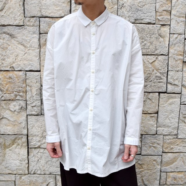 【2020】 toogood(トゥーグッド)/ THE DRAUGHTSMAN SHIRT POPLIN -CHALK- (1)